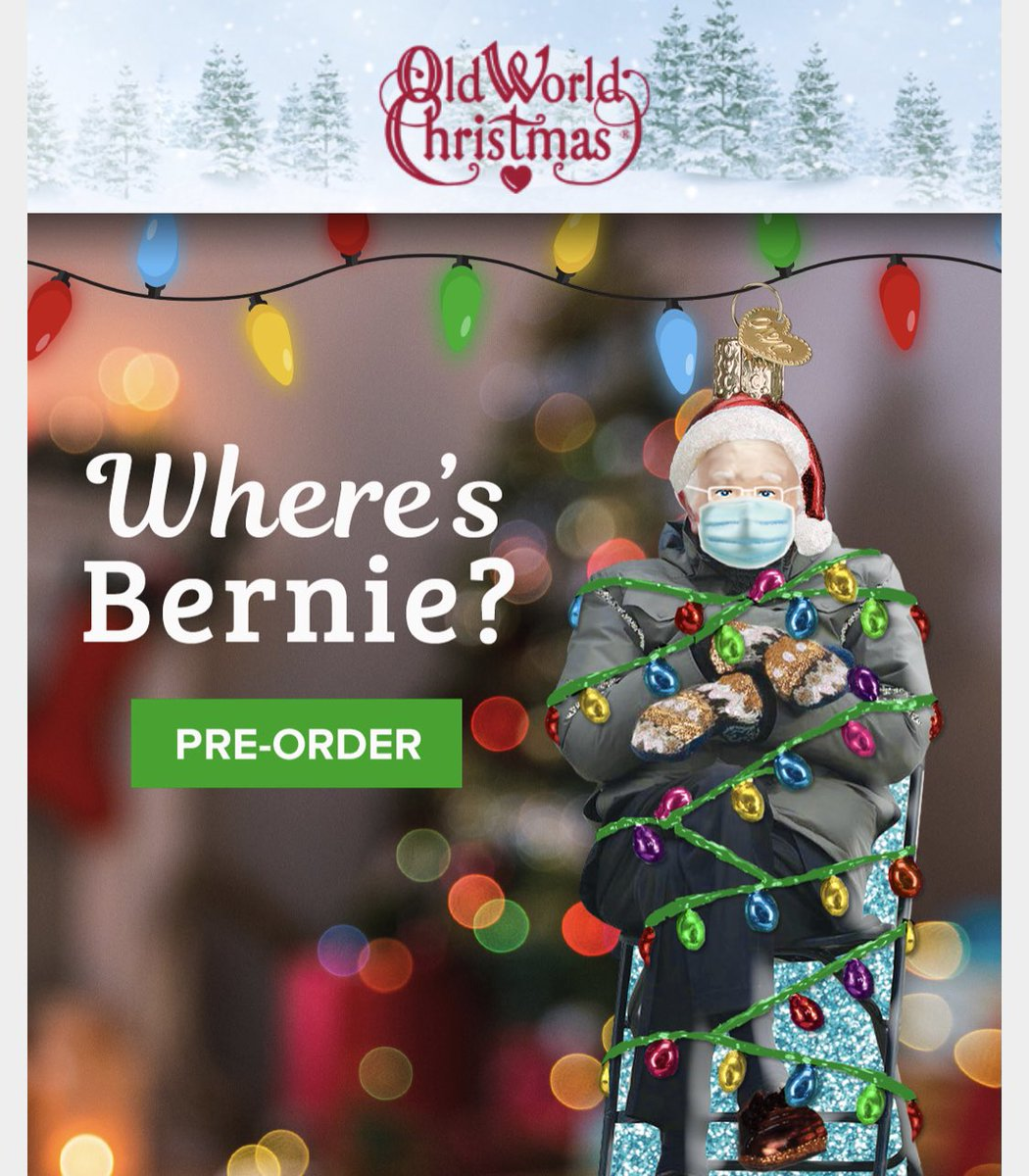 I want it but on the other hand if @OldWrldChrstmas is not donating at least a portion to charity like @BernieSanders did it seems wrong to buy it.  #berniemittens
