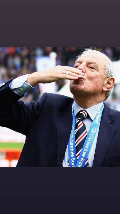 Happy birthday Walter Smith what a man