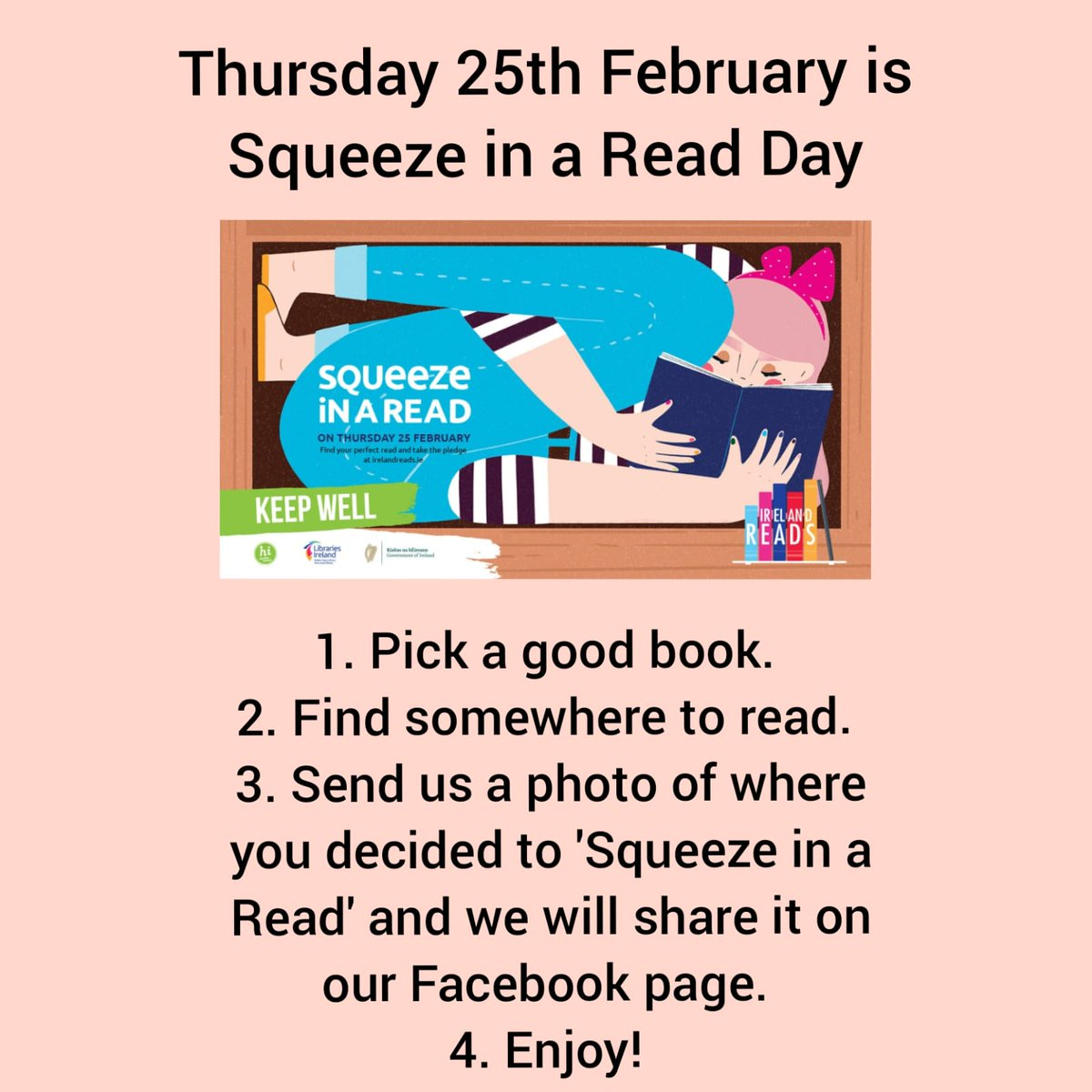 Image for the Tweet beginning: #SqueezeInARead #books #school
