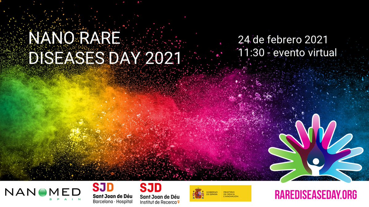 "#RareDiseaseDay #PCBCommunity| Prof @samitierjosep, @IBECBarcelona director & scientific  coordinator of @NanomedSpain opens the ""Nano Rare Diseases Day""   @rarediseaseday @eurordis @FEDER_ONG @InfoFecamm #DiaMalaltiesRares #DíaMundialEnfermedadesRaras  https://t.co/3A7brubyzj"