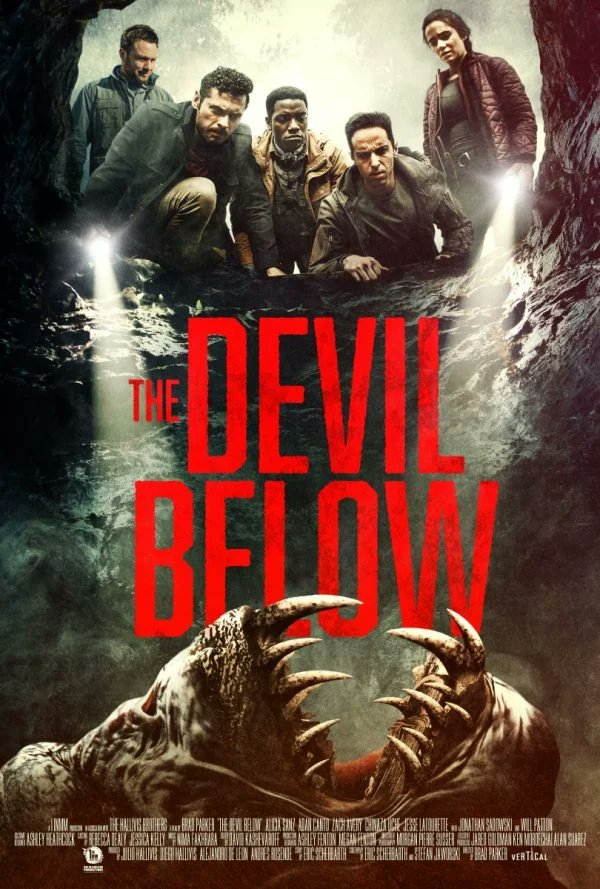 Replying to @flickeringmyth: Lauren Miles (@Lauren_M1les) with a ★★ review of The Devil Below...