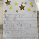 The Reception children have been learning all about stars this week. We read the book 'How to Catch a Star' by Oliver Jeffers and watched a variety of star videos online. The children then created their own star posters and fingerprint constellations. #homelearning #PrePrep
