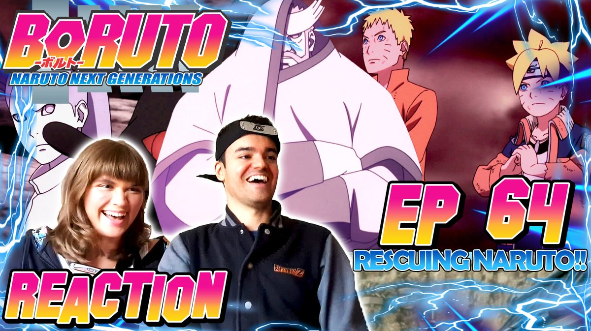 Rescuing Naruto! - Boruto Episode 64 Reaction  #DeGRA #boruto #reaction #review #anime #naruto #narutoshippuden #shippuden #sasuke #sakura #sarada #mitsuki #manga #4kcreator #BorutoNarutonextgenerations #hokage #youtubersreact #smallyoutubers @YouTube