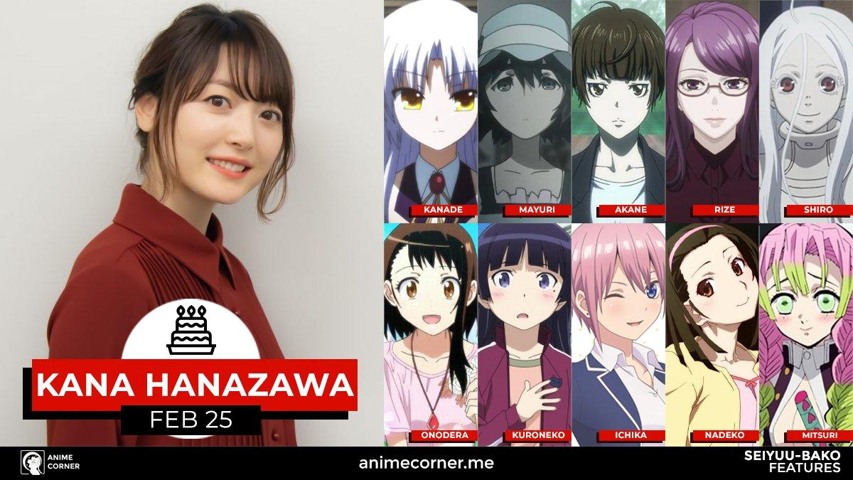 Hanazawa Kana Anime