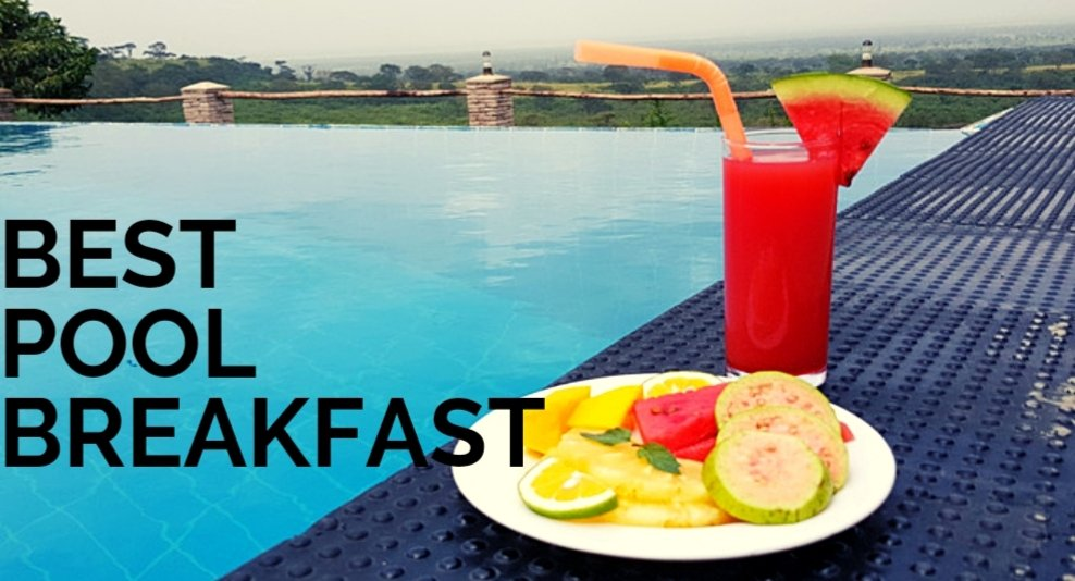 Have you been to Queen Elizabeth National park or have you had breakfast while enjoying the views of an infinity pool  #beach #VisitUganda #WhatsApp #WeWereBothYoung