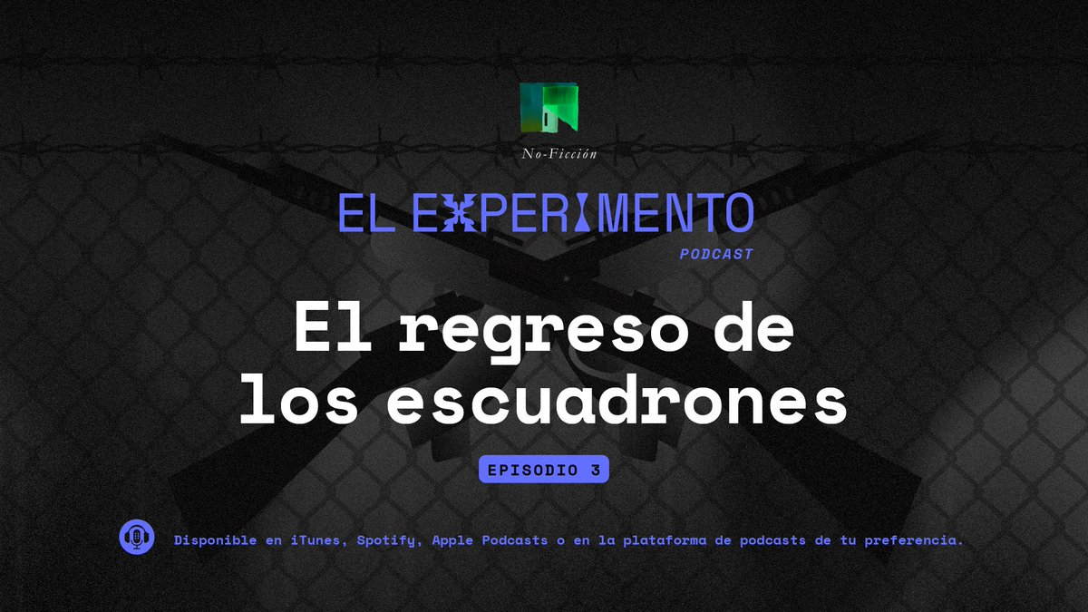 Capítulo #3 de #ElExperimento: El regreso de los escuadrones 👥  En 2008,  Gisele Rivera viajó a Guatemala para convertirse en la fiscal de la @CICIGgt que en 6 meses identificaría una estructura criminal involucrada en tres casos de terror: el Caso Pavón, Plan Gavilán y el 🧵👇🏼