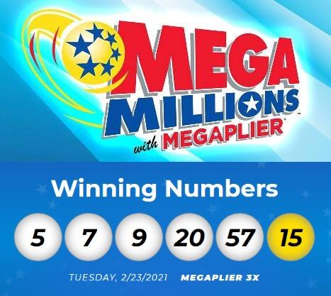 Winning numbers for the February 23, 2021 Mega Millions drawing  #MegaMillions #MegaMillionsNumbers #lottery #lotterywinner #books #ebooks #Amazon #AmazonBooks #AmazonKindle #Kindle #KindleBooks #KindleEbooks #KindleUnlimited #KindleOwnersLendingLibrary #KindleLendingLibrary https://t.co/VoLwhqQgFz