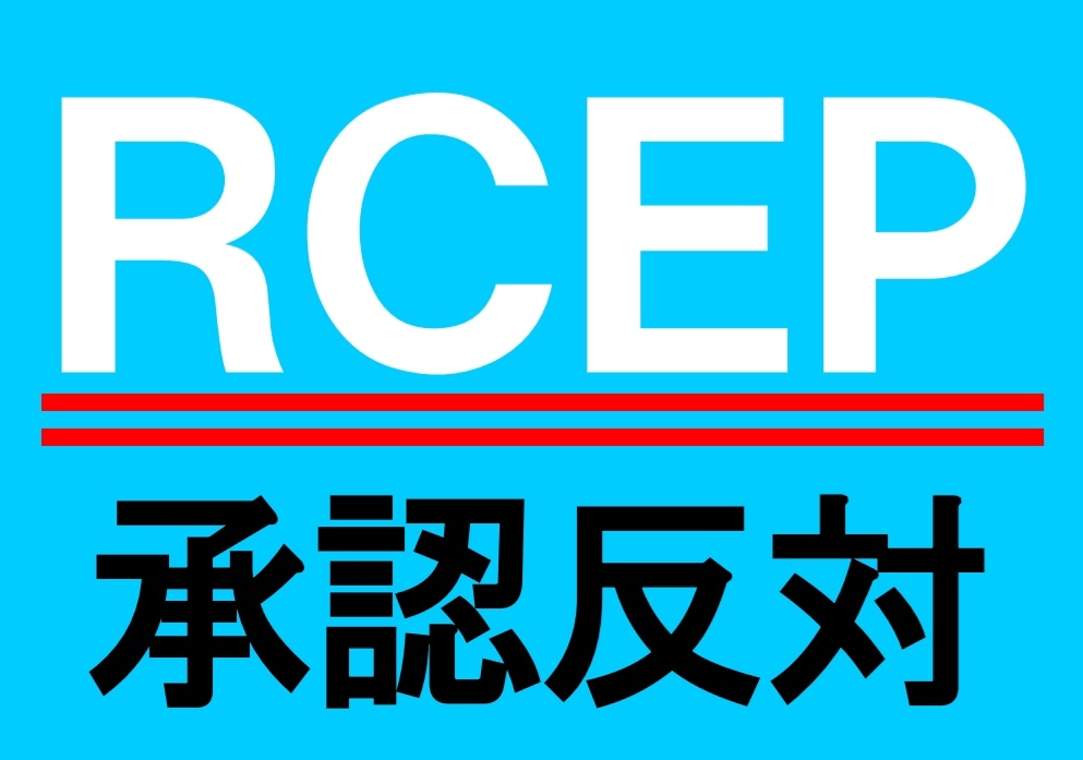 RCEP閣議決定‼️😭  リアルに行動しよう❗  地元に野党議員がいたら、連絡して 「審議拒否」をお願いしてみよう。 事務所に行ける人は行こう。  野党議員がいなければ、野党の支部や本部に電話してみよう。  もう後がないので、少し勇気を出して いつもより一歩進んだ行動しよう‼️ #RCEPで日本が危ない