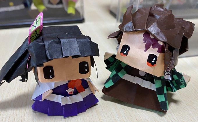 鬼 滅 の 刃 折り紙 カナヲ