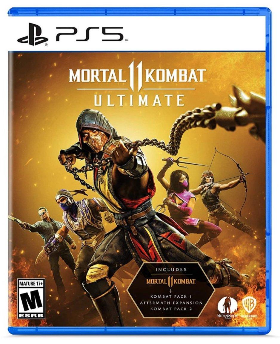 Mortal Kombat 11 Ultimate PS5   Amazon USA