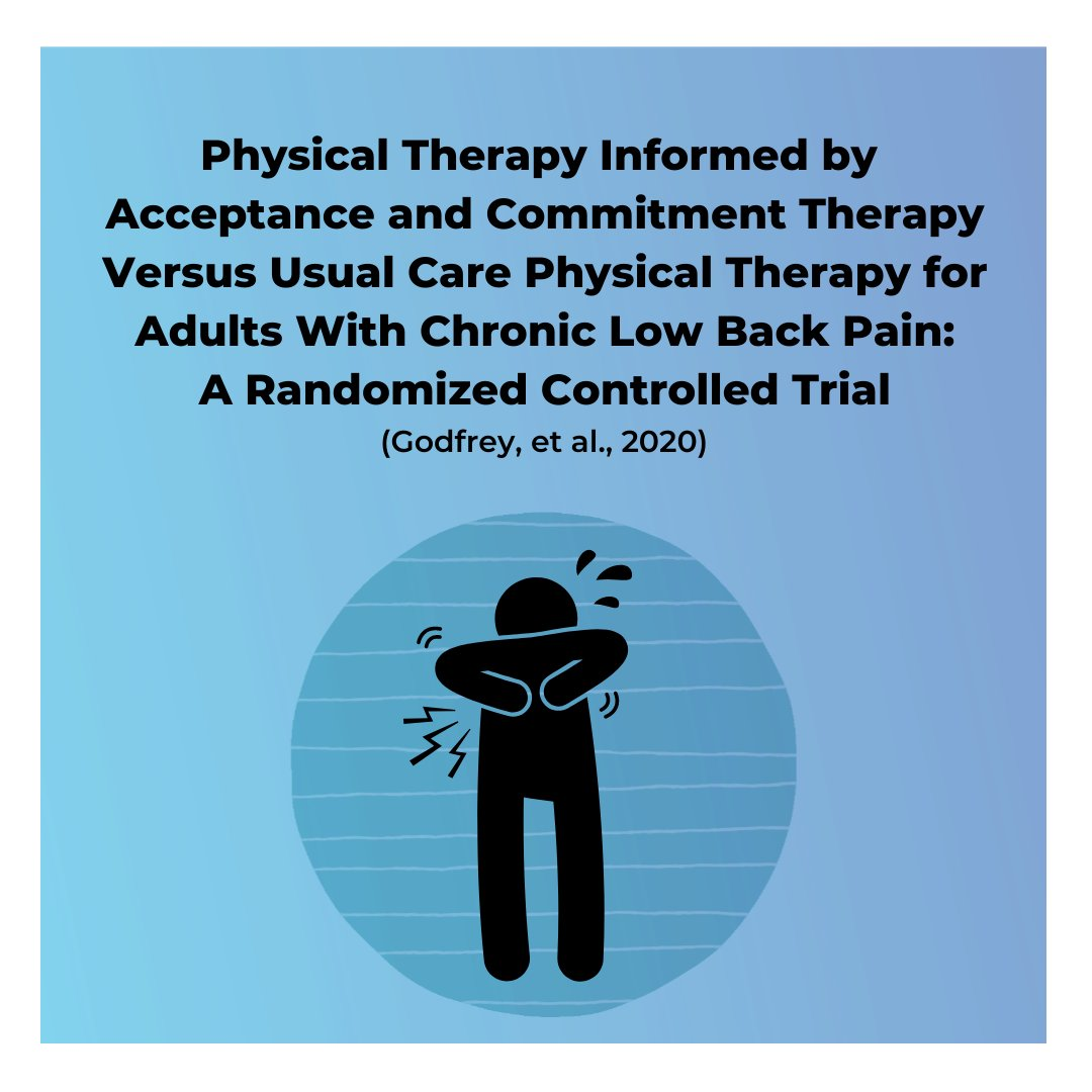 Join me for a FREE webinar this Saturday, February 27th at 11:30 AM EST to learn how you can change your patients' lives with ACT.  https://t.co/TlUxk75MQV  #ReinventingPainCare #PT #physicaltherapy #physio #physiotherapist #ACT #acceptanceandcommitmenttherapy https://t.co/SFu8ywI9ss