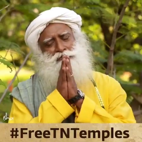 11,999 temples dying without a single pooja taking place. 34,000 temples struggling with less than Rs 10,000 a year. 37,000 temples have just one person for pooja, maintenance,security etc! Leave temples to devotees. Time to #FreeTNTemples -Sg @mkstalin @CMOTamilNadu @rajinikanth