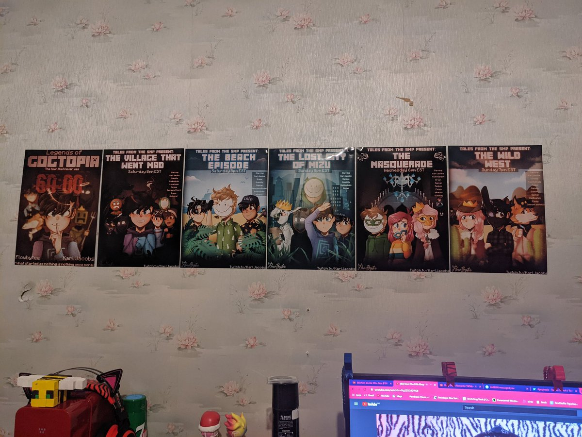 Safe to say if you guys end up selling uh the posters 👉👈 these posters are so good I love them 👏💕  @honkkarl @Flowbytee  #TALESFROMTHESMP