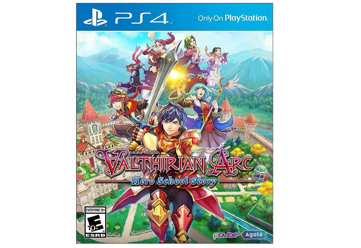 Valthirian Arc (PS4) $12.01 via Amazon (Prime Eligible). 2