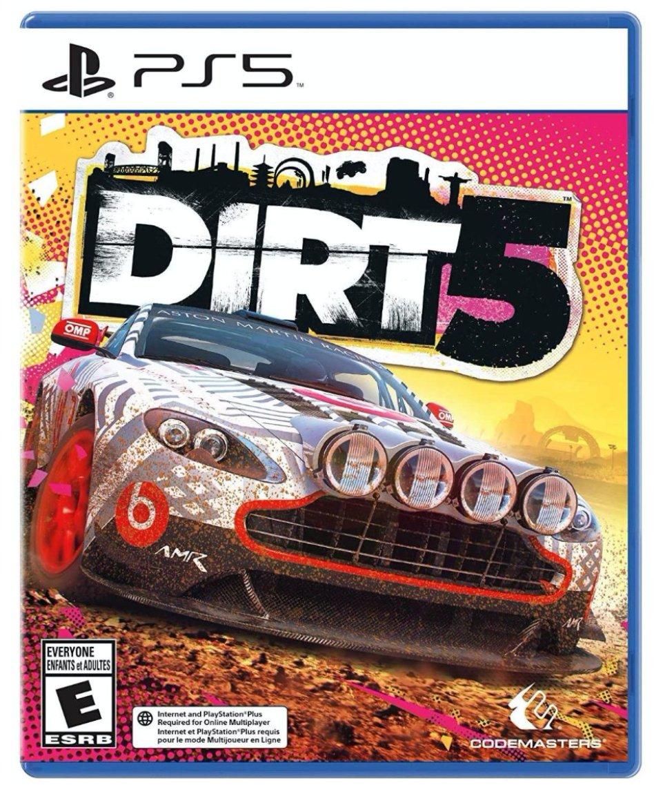Dirt 5 PS5 List Price: $59.99  Price: $39.99  Amazon USA 2