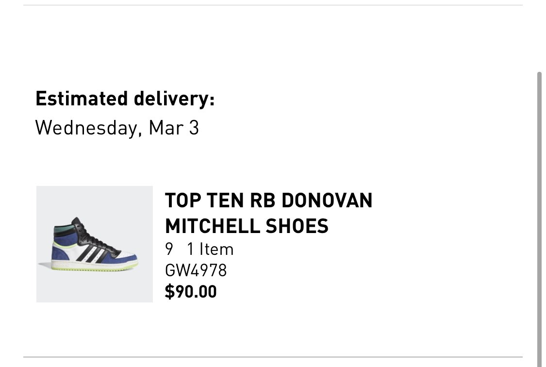 You knew this was coming  ⁦@spidadmitchell⁩  ⁦@adidasHoops⁩ #adidas #topten #donovanmitchell #brkicks #nbakicks