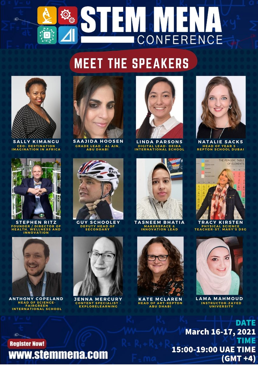 What a line up! Can't wait to share all things @EsolEducation1 @FairgreenDubai @DunecrestDubai @AcademySheikh @greensheikh @KNargish @veggitech @greenBXmachine @TSCDubai @KHDA @TorresRealTalk @NYCFoodPolicy