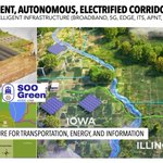 Image for the Tweet beginning: NextGen Highways - electric transmission
