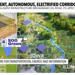 Image for the Tweet beginning: NextGen Highways - electric transmission