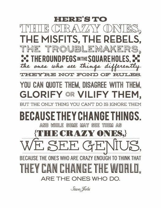 Happy birthday to my biggest source of inspiration Steve Jobs.