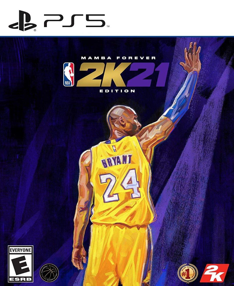 NBA 2K21 PS5 Mamba Forever Edition $99.99  Amazon USA 5