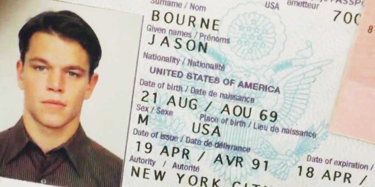 Replying to @hitRECordJoe: Most famous passport ever..