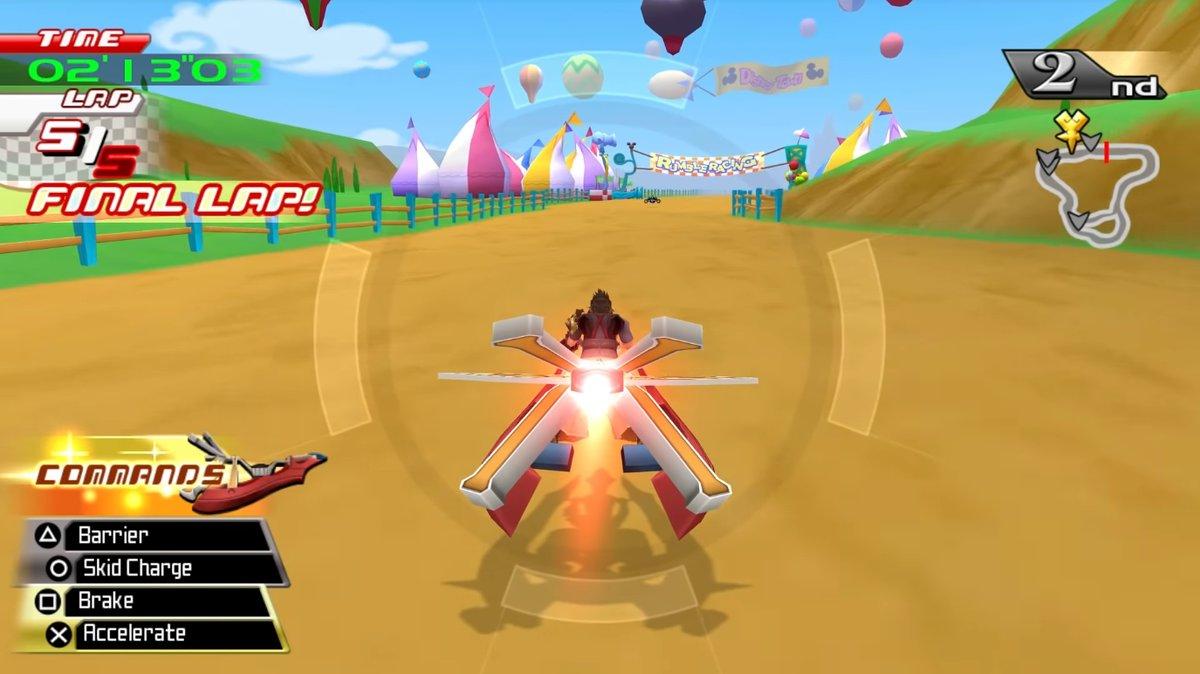 Battled Iron Imprisoner. Won Rumble Racing. (BbS) #KingdomHearts #Playing #gaming #Disney #SquareEnix