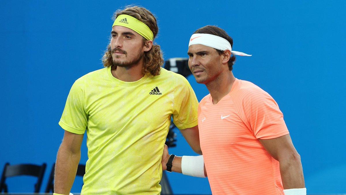 #AusOpen #ATPCup #RafaelNadal Quarterfinals couldn't have got any bigger or better  #VamosRafa Luv U Forever ❤❤