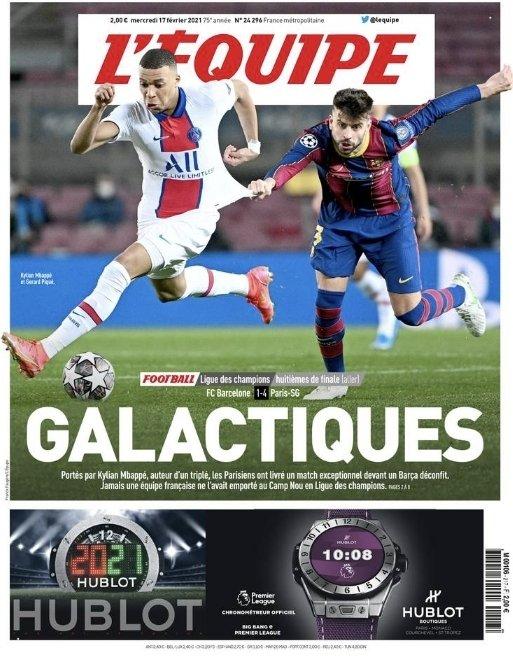#CatchMeIfYouCan #KylianMbappe #PSG #GerardPique #Barca #LDC #FCBPSG #Lequipe  #ParisEstMagique