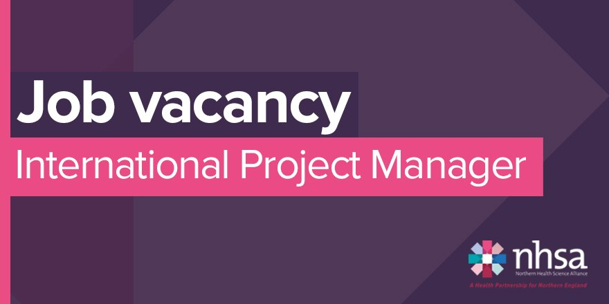 The application deadline for the position of NHSA International Project Manager is 5pm on Friday! This is a fantastic opportunity to play a key role in supporting and co-ordinating our international programme. Find out more ➡️thenhsa.co.uk/work-with-us/v… #ProjectManager #healthjobs
