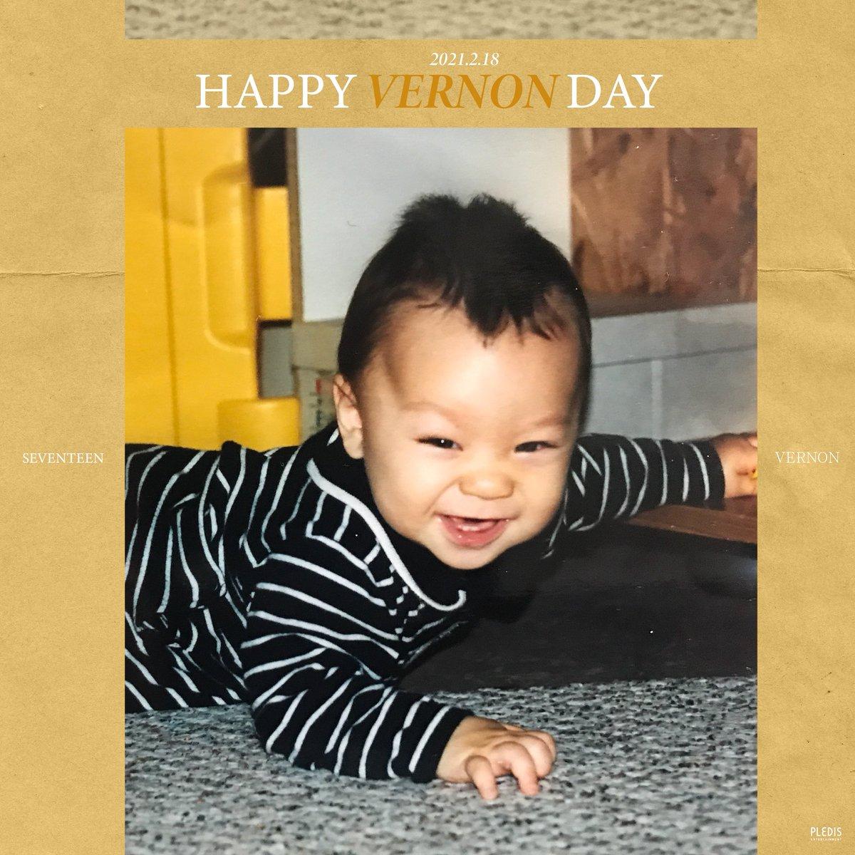 20210218 Happy VERNON's Day🐻❄️  #Happy_VERNON_Day  #버논 #VERNON #세븐틴 #SEVENTEEN