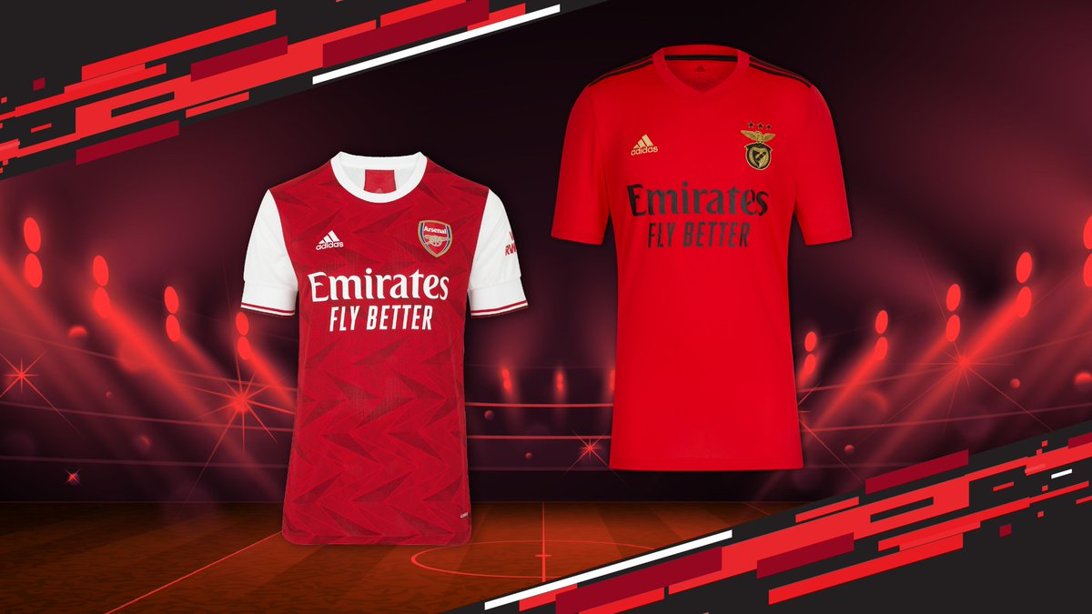 In the lead up to Arsenal and Benfica's match, we have one signed shirt from each team to give away! Retweet & tag @SLBenfica or @Arsenal to show your support & stand a chance to win your favourite club's shirt! T&Cs apply:   #SLBARS #FlyEmiratesFlyBetter