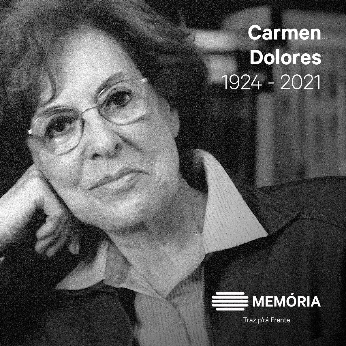 Carmen Dolores 22 abril 1924 | 16 fevereiro 2021 Carmen Dolores Cohen Sarmento Veres foi uma atriz e escritora portuguesa. Aos 14 anos, estreou-se na rádio, onde manteve depois uma intensa atividade, nomeadamente em programas de divulgação de poesia.  https://t.co/7I4E9lAjfX https://t.co/M5AtcLukLu
