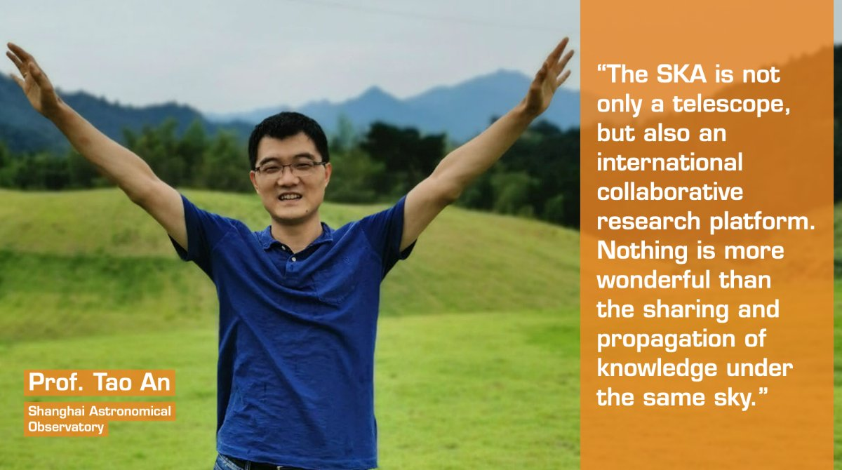 Interested in #BigData? Meet #TeamSKAs Prof. Tao An 🇨🇳, a supercomputing expert & co-chair of the SKAs VLBI Science Working Group! He spoke to us about groundbreaking SKA data processing, international collaboration & what inspired his love of astronomy: loom.ly/yLC-fbs