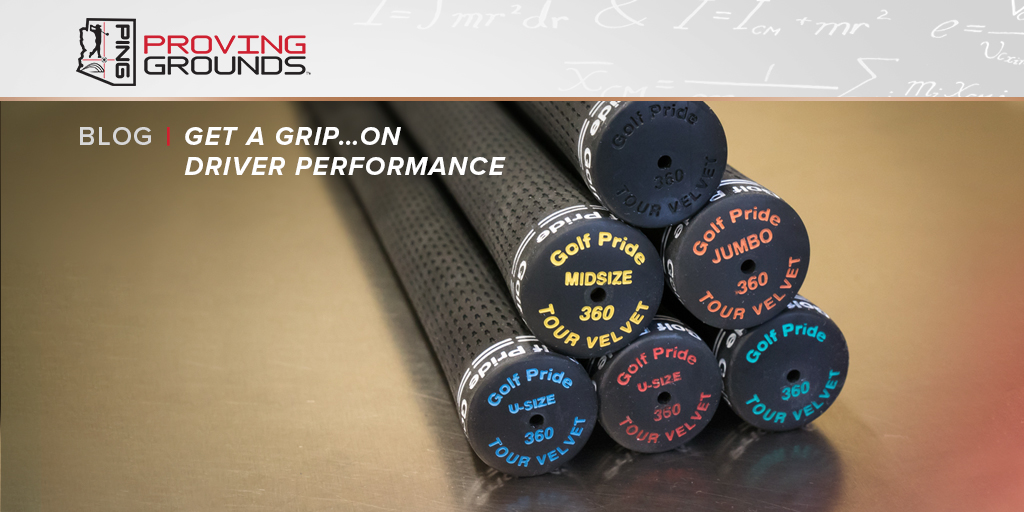 How does grip size affect driver performance? Get up to speed by checking out this PING Proving Grounds article:  #WednesdayWisdom