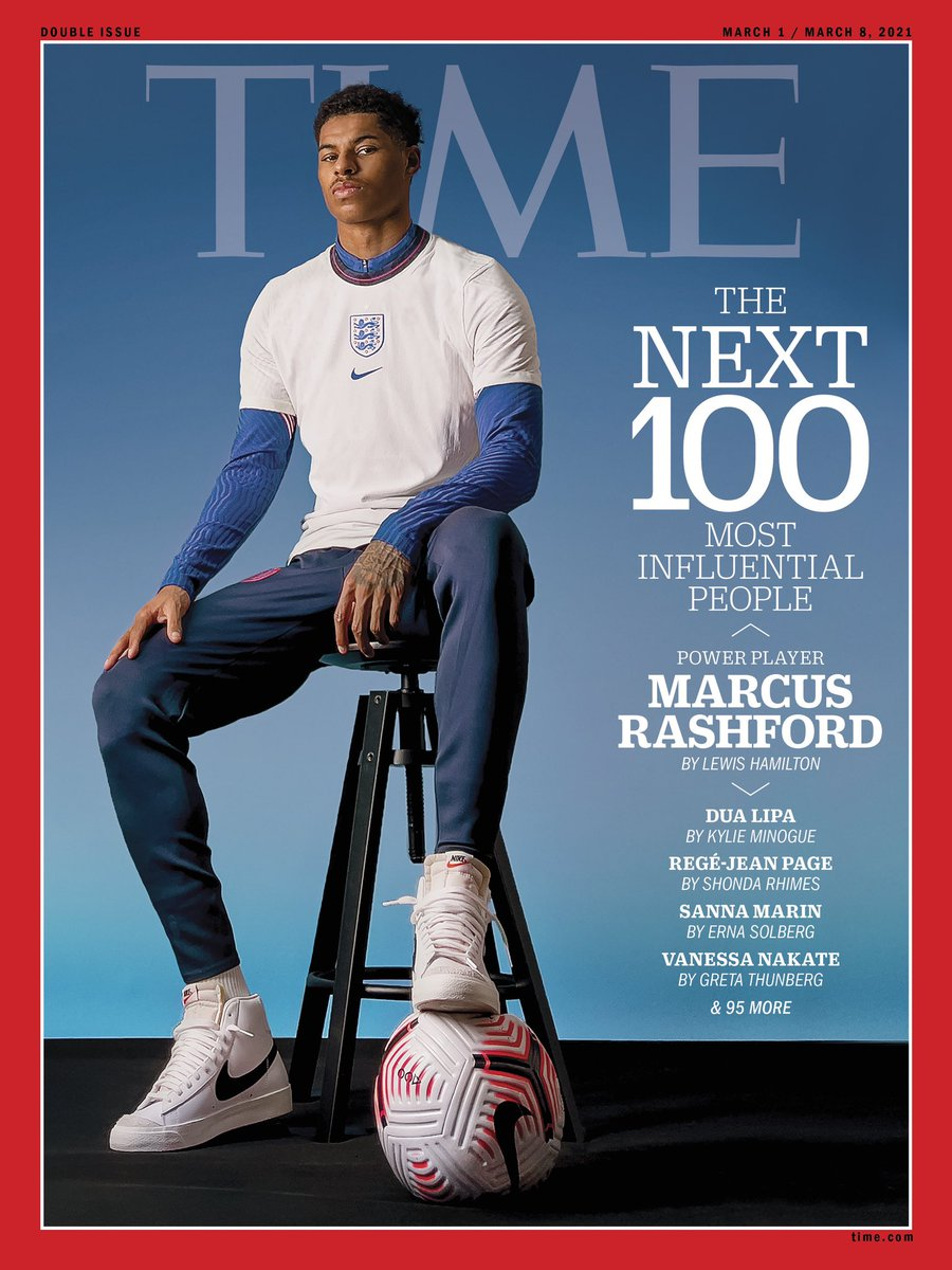 Who would have thought you could have captured this via an iPhone in my front room 🤯 thank you @TIME very proud ♥️ #TIME100Next