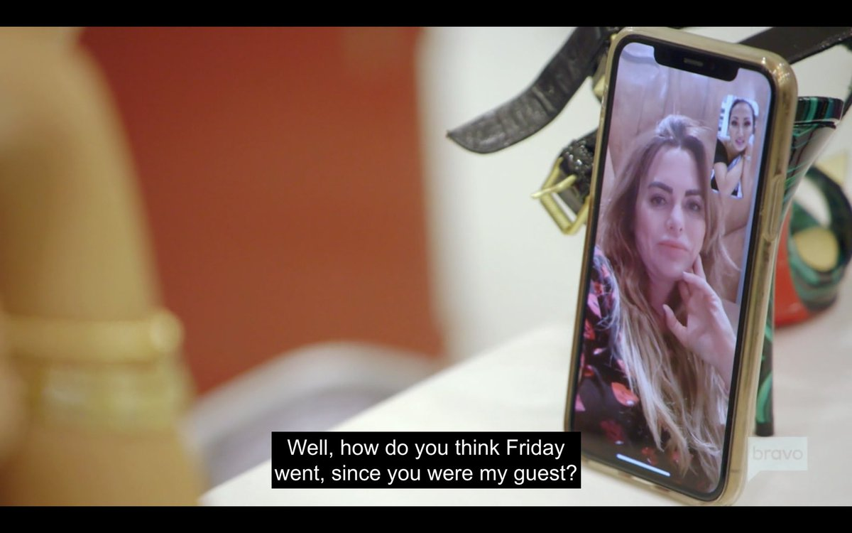 I'm REALLY loving the friendship between Tiffany and D'Andra this season. Them on FaceTime in the closet felt so organic and natural. They're making #RHOD imo.
