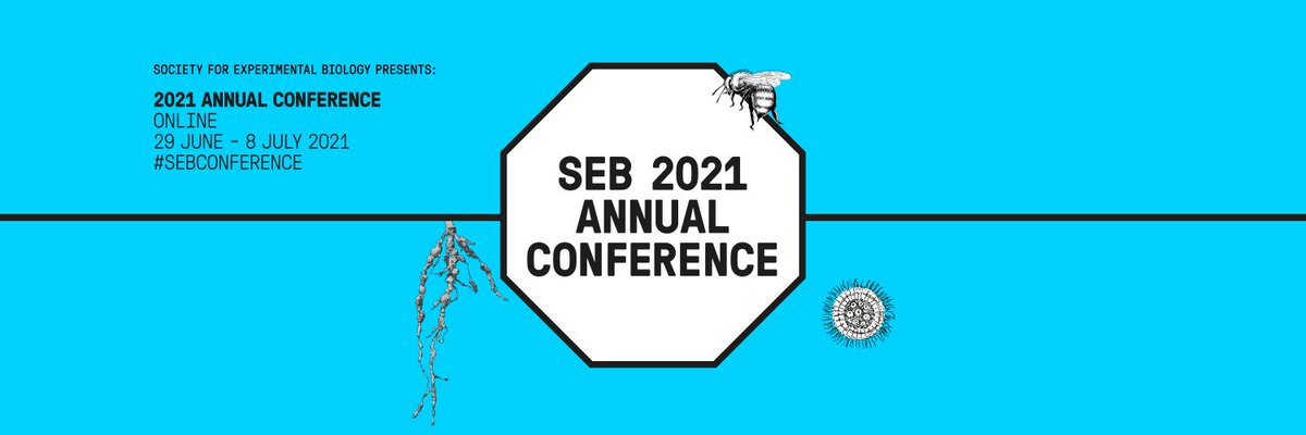 The SEB would like to enlist your help in spreading the word about our 2021 Annual Conference. We have a number of ways in which you can help promote the meeting ⬇️ sebiology.org/events/event/s…
