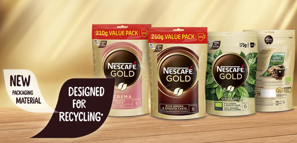 Nescafé Gull med ny refill-forpakning - Fire tonn mindre emballasje i Norge  https://t.co/lvmSFEdPwp https://t.co/ger80C3VwJ