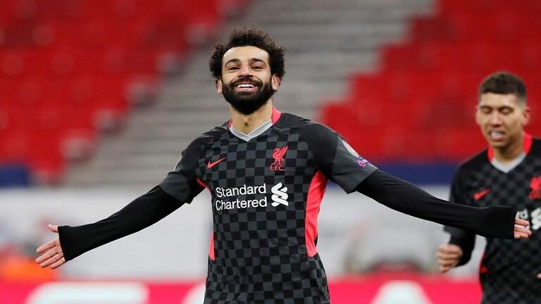 ليفربول يعلق على تألق محمد صلاح في مباراة لايبزيغ بعبارة طريفة