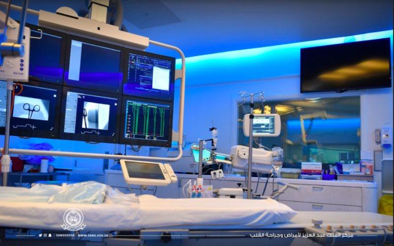 اعتماد مركز الملك عبدالعزيز لجراحة وزراعة القلب.