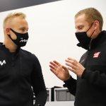 Meeting the team 🤜🤛  #HaasF1