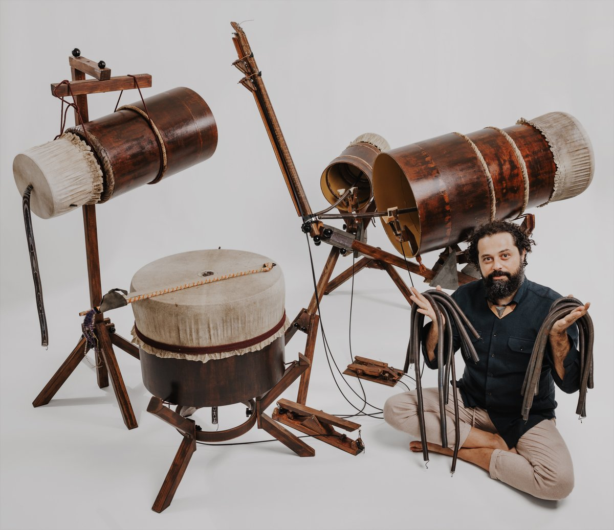 Intruder features a unique instrument, the Yaybahar. Created by Turkish musician Gorkem Sen, his Yaybahar is the only one in the world and it's my honour to have its incredible sounds, and Gorkem's incredible playing, on the album.