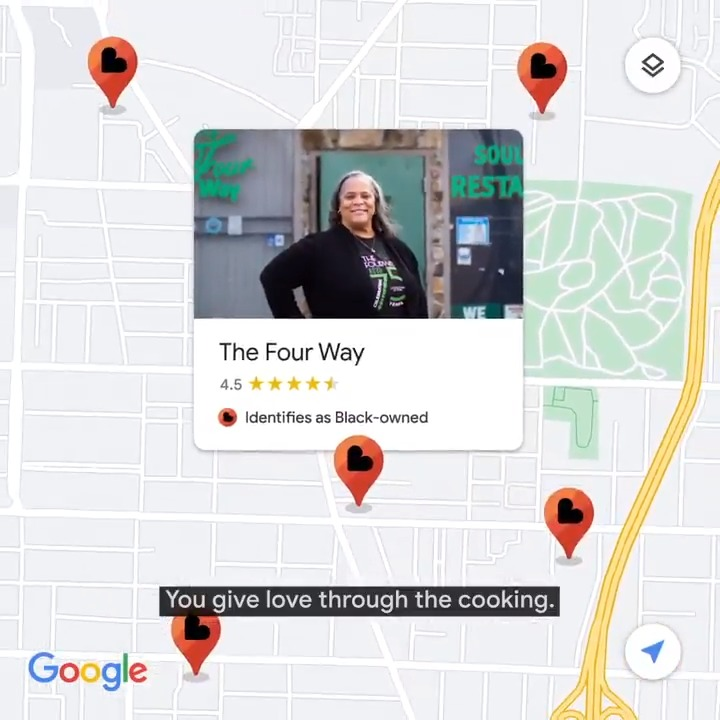 For generations, The Four Way in Memphis, TN has served soul food to people from all walks of life. Find thousands of Black-owned businesses like The Four Way in @GoogleMaps and Search. Learn more and get involved →