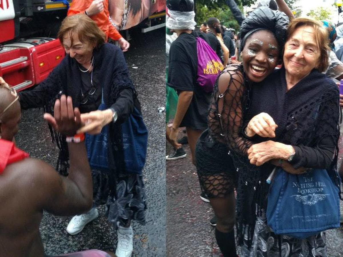 Speaking of age, please can we all take a moment to appreciate my granny, who is 95-years old today🎈  Here she aged 92 dancing at Notting Hill Carnival. My idol.