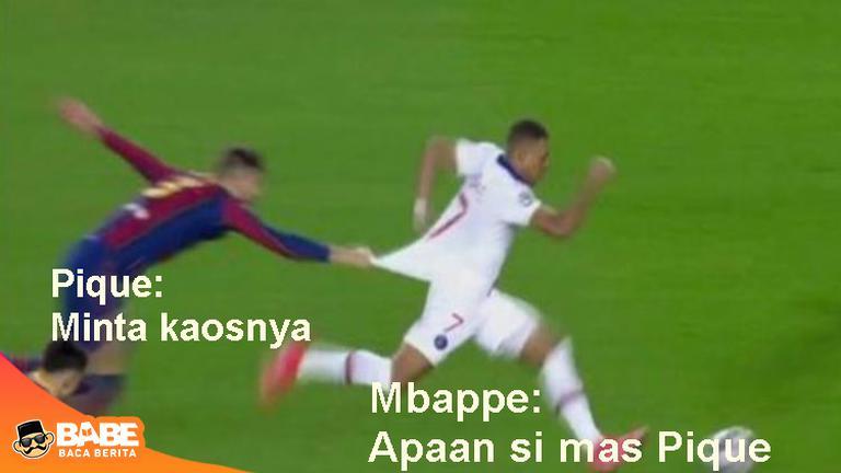 7 Meme Kocak Kekalahan Barca dari PSG, Bikin Puas Ketawa #ParisSaintGermainFC #LionelMessi #FC Barcelona #campnou #GerardPiqué