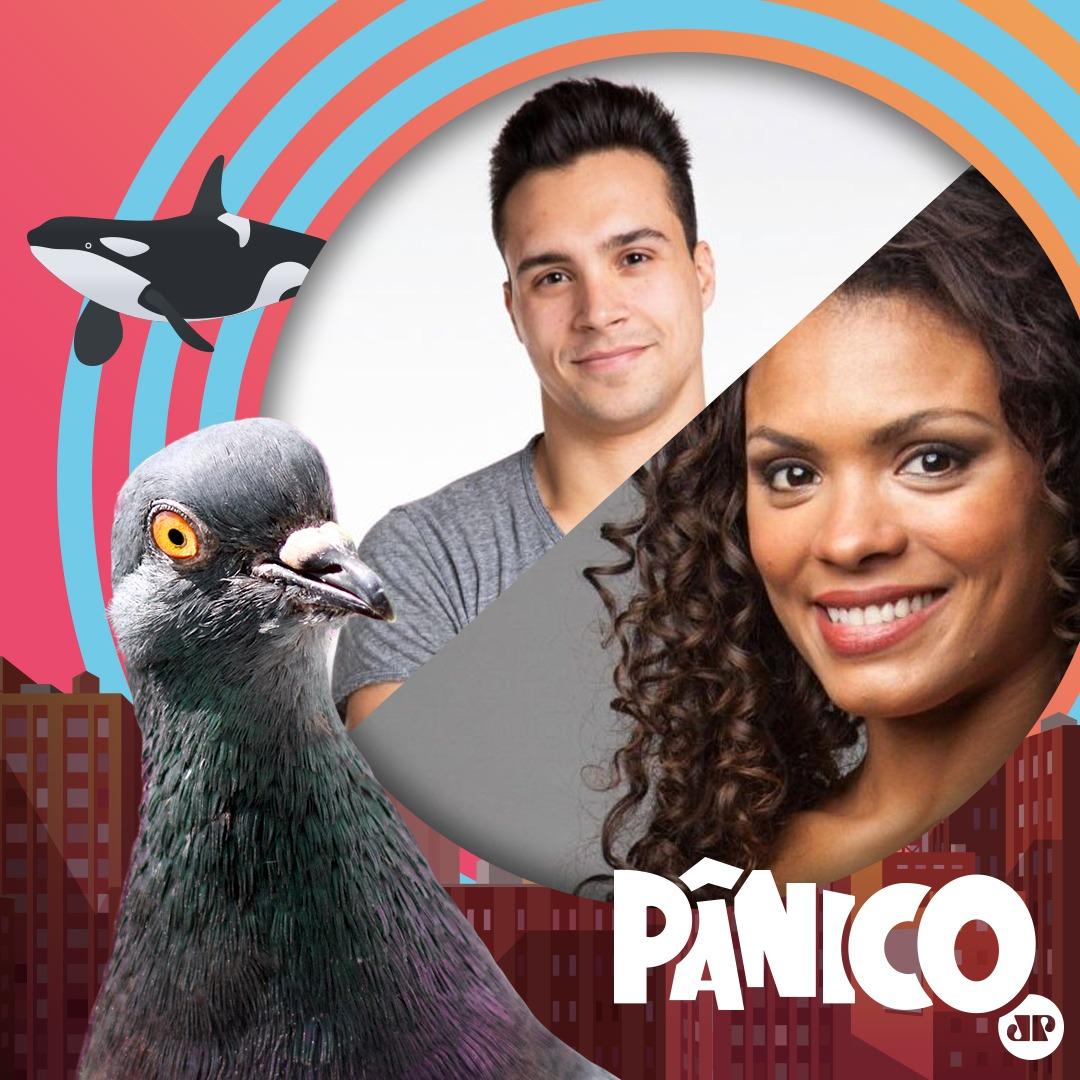 Petrix, o ginasta do BBB20 e a atriz Lidi Lisboa, da Fazenda12, são os convidados do Pânico de amanhã. Então, se liga que o programa é AO VIVO e começa às 12h. Você pode assistir no canal oficial do Pânico no Youtube ou na Panflix!