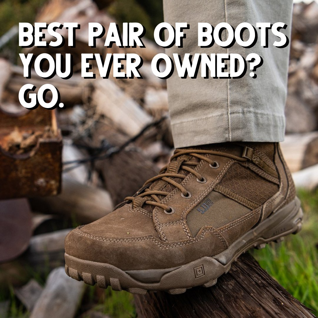 Let's start a contentious argument! Best boots you ever owned? GO!  #SheepdogResponse #GearTalk #HardToKill #AlwaysBeReady #WednesdayPoll