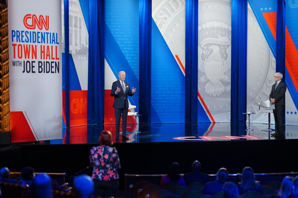 As I said at last night's CNN Town Hall, I'll always level with the American people and tell it to you straight. The road ahead will be tough and the crises we face are daunting, but I'm confident that if we come together and act as one nation, we will overcome them.