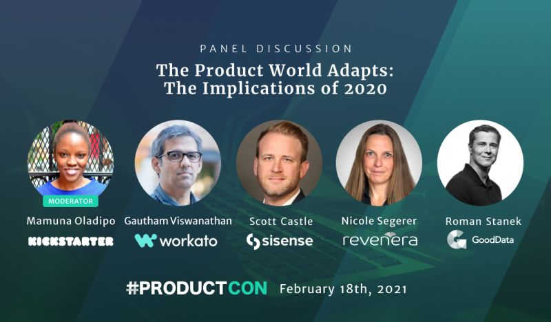 How has your product adapted since all that transpired in 2020? Tomorrow, CEO @RomanStanek will take the stage at @productschool's #ProductCon to discuss this very real, very relevant topic. (Expect several #micdrop-worthy moments. 🎤  You've been warned.) https://t.co/NFa6DXDAoo https://t.co/lIMYtcPRHo